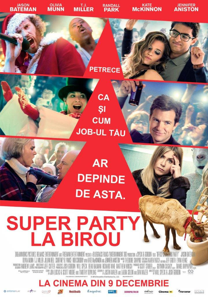 Super party la birou / Office Christmas Party (Premiera)