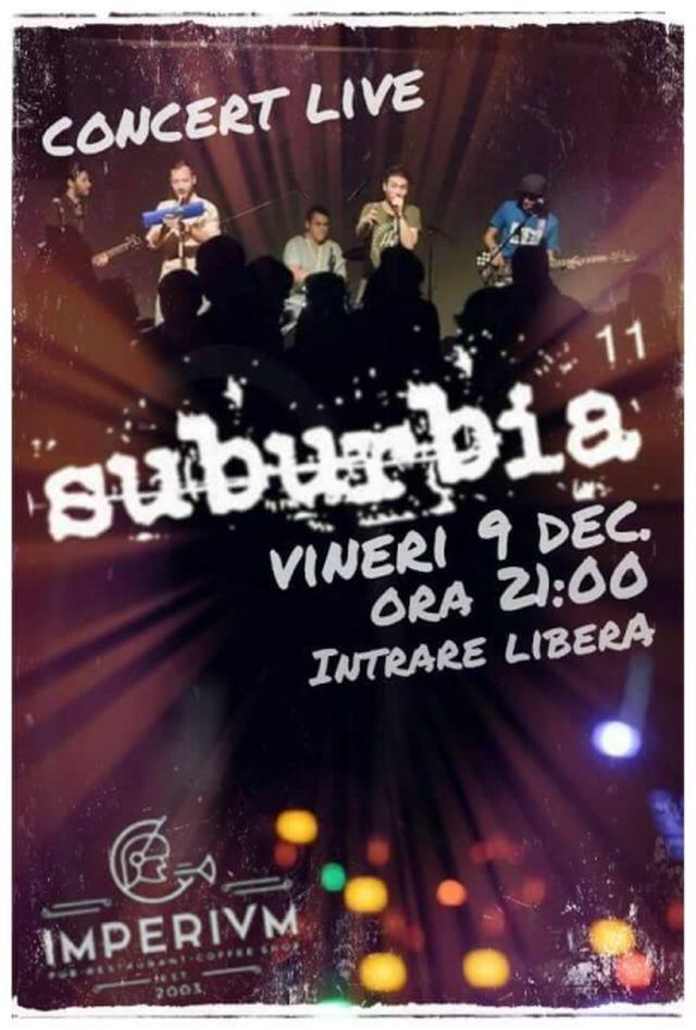 SUBURBIA 11 (ex Shogorii) - CONCERT LIVE
