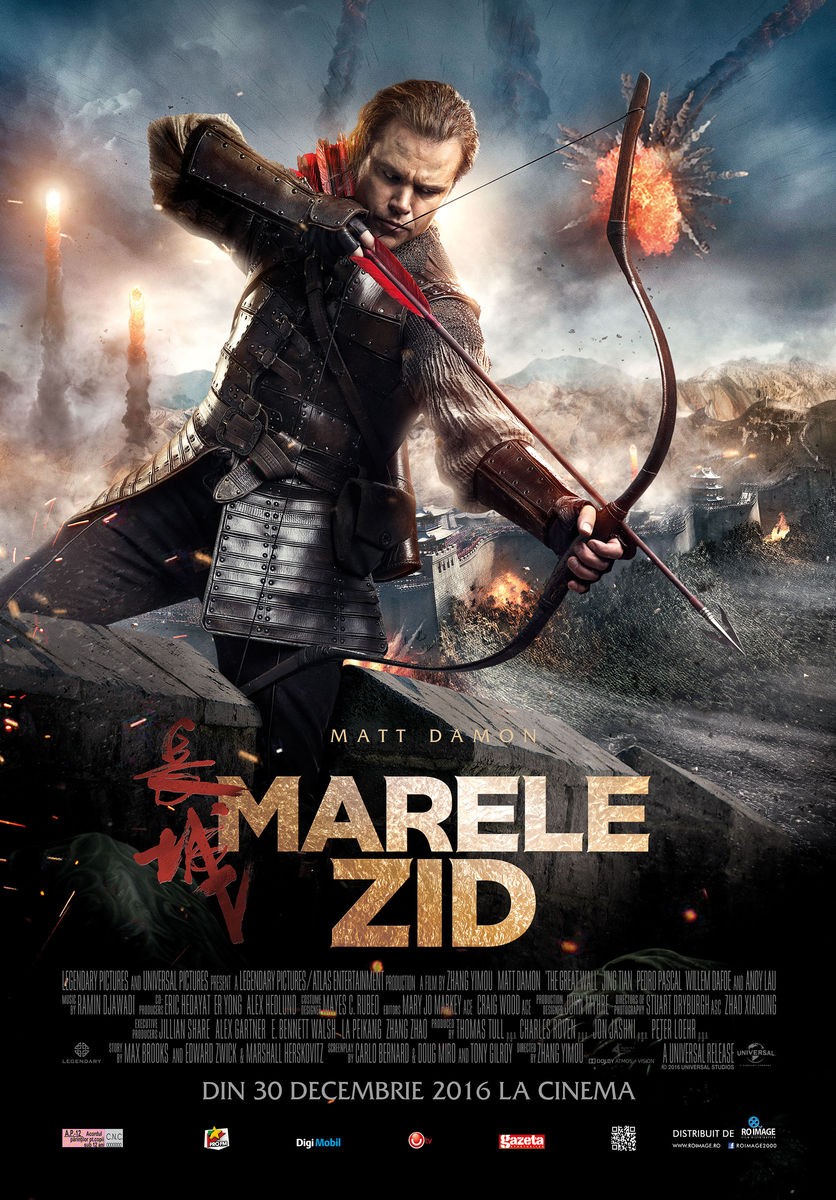 Marele Zid – 3D / The Great Wall – 3D (Premiera)