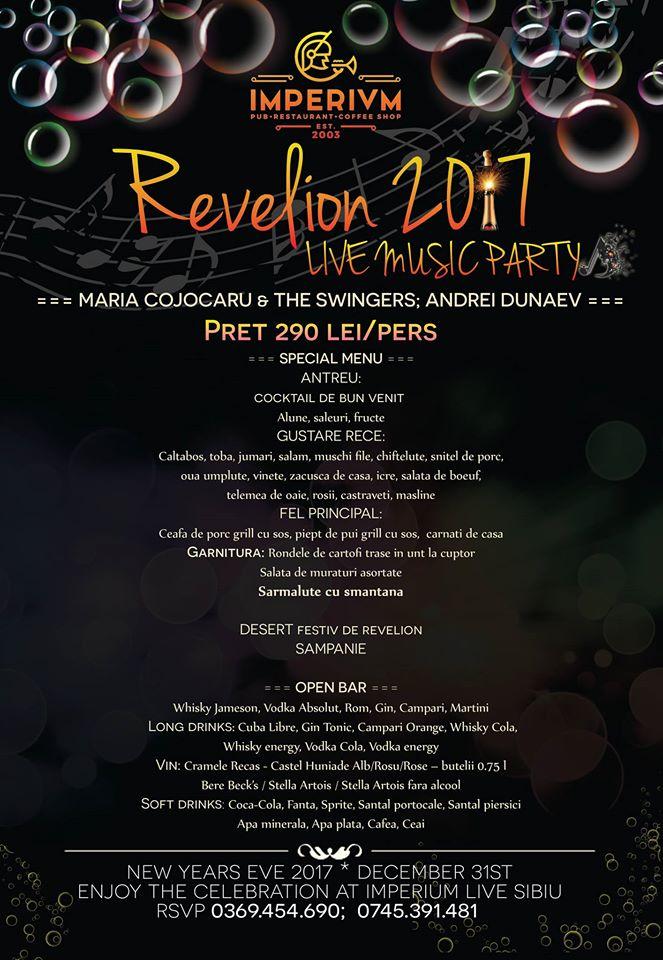 REVELION 2017- LIVE MUZIC PARTY
