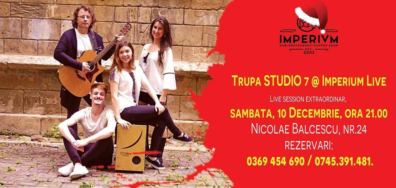 TRUPA STUDIO 7 - CONCERT LIVE