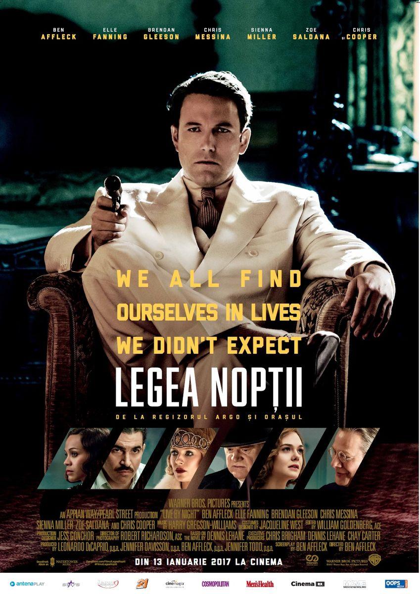 Legea Noptii / Live by Night (Premiera)