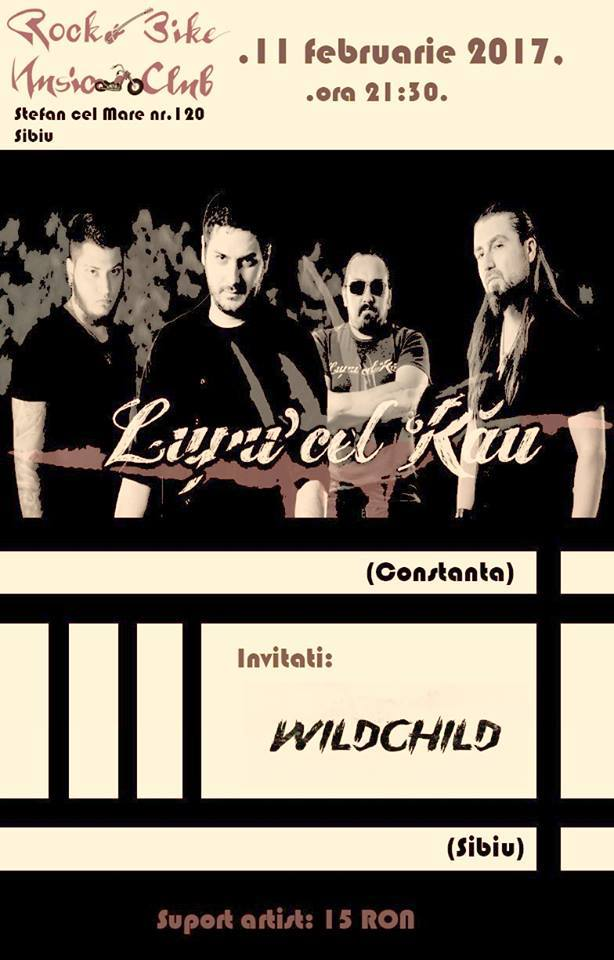 Lupu' cel Rau & Wildchild in Rock N'bike