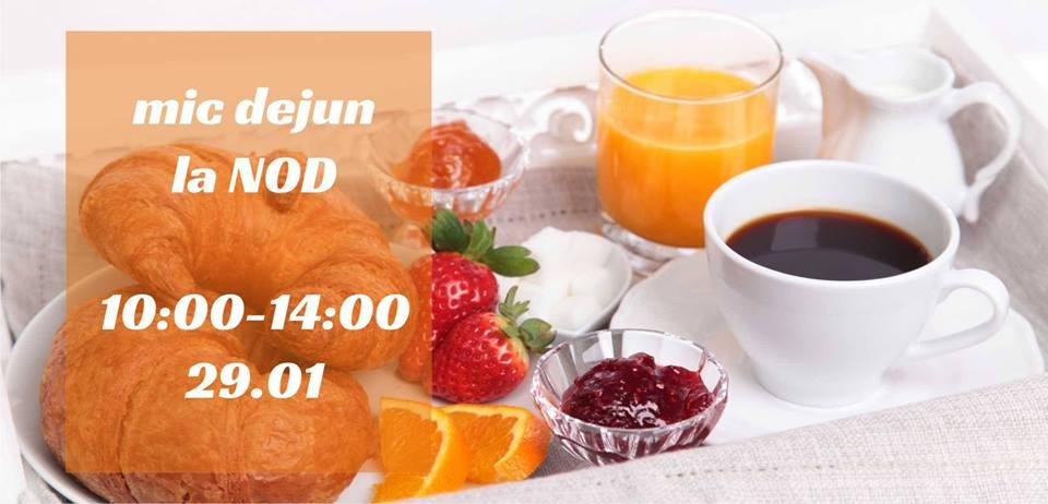Mic dejun la NOD