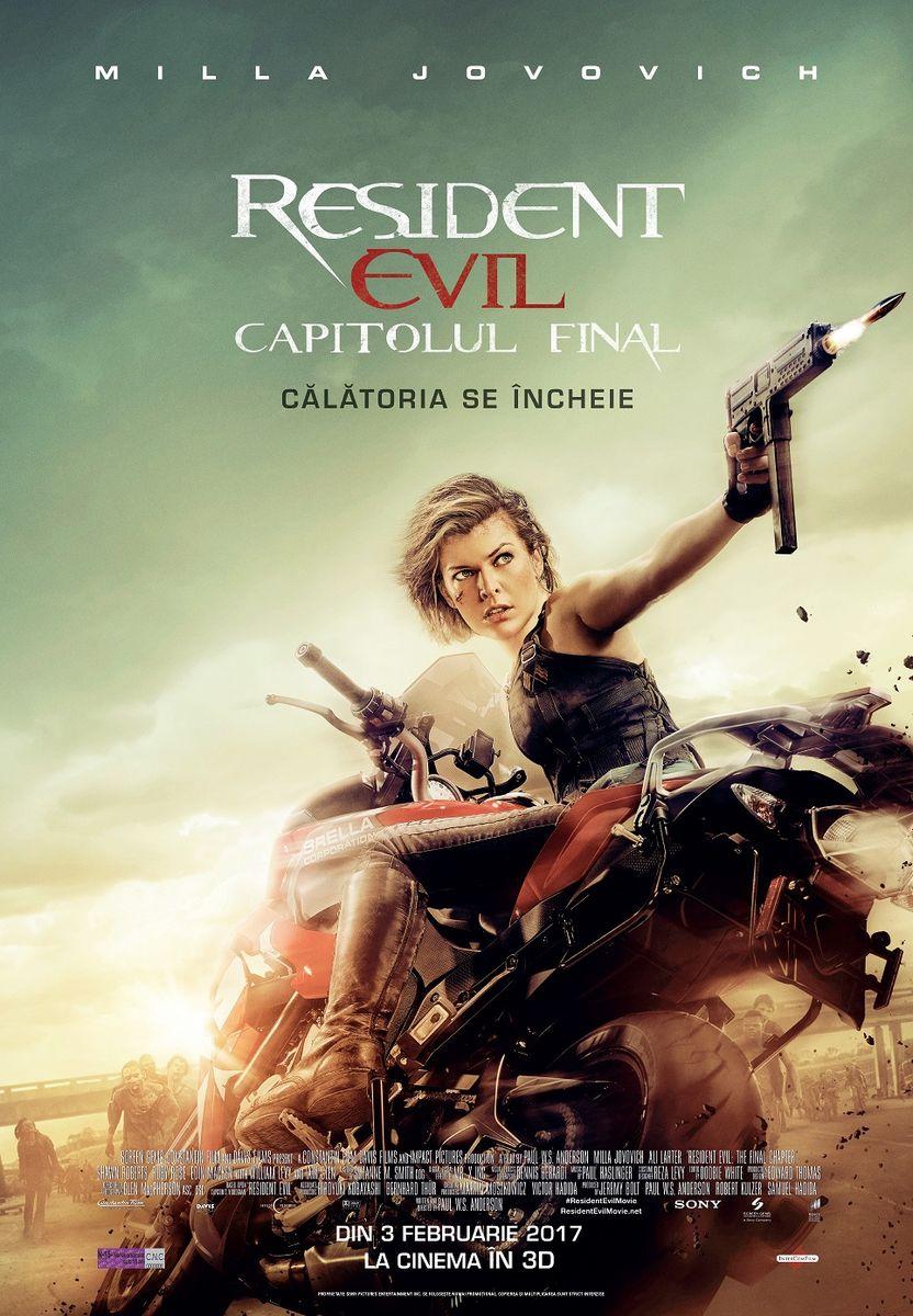 Resident Evil: The Final Chapter – 3D / Resident Evil: Capitolul Final – 3D (Avanpremiera)