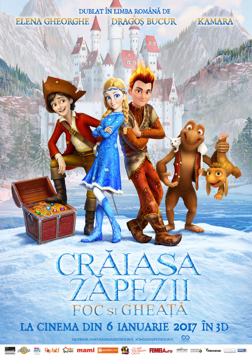 Craiasa Zapezii 3: Foc si Gheata – 3D Dublat / Snow Queen 3: Fire and Ice – 3D