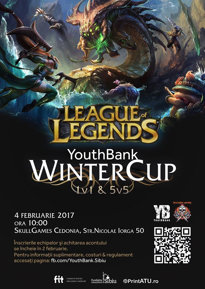 YouthBank WinterCup - LoL Tournament Sibiu