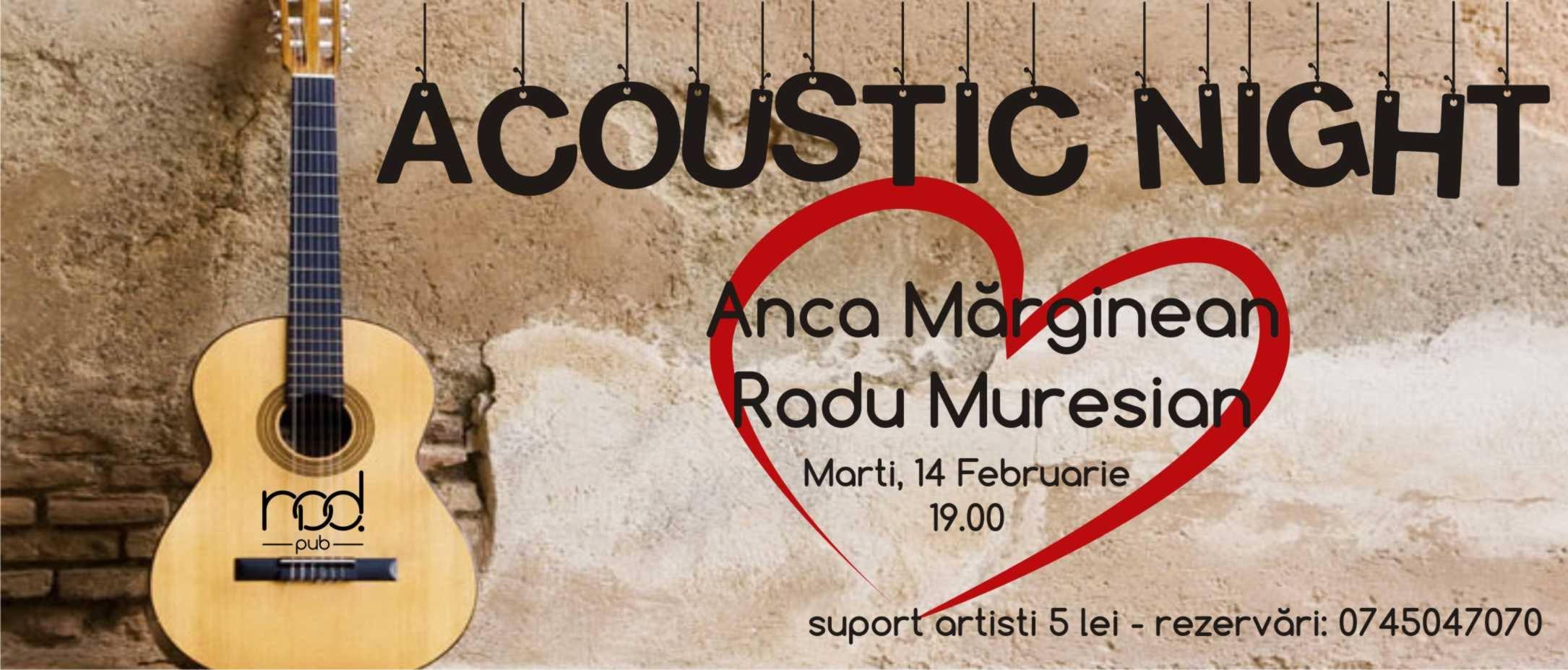 Concert Acustic cu Anca&Radu