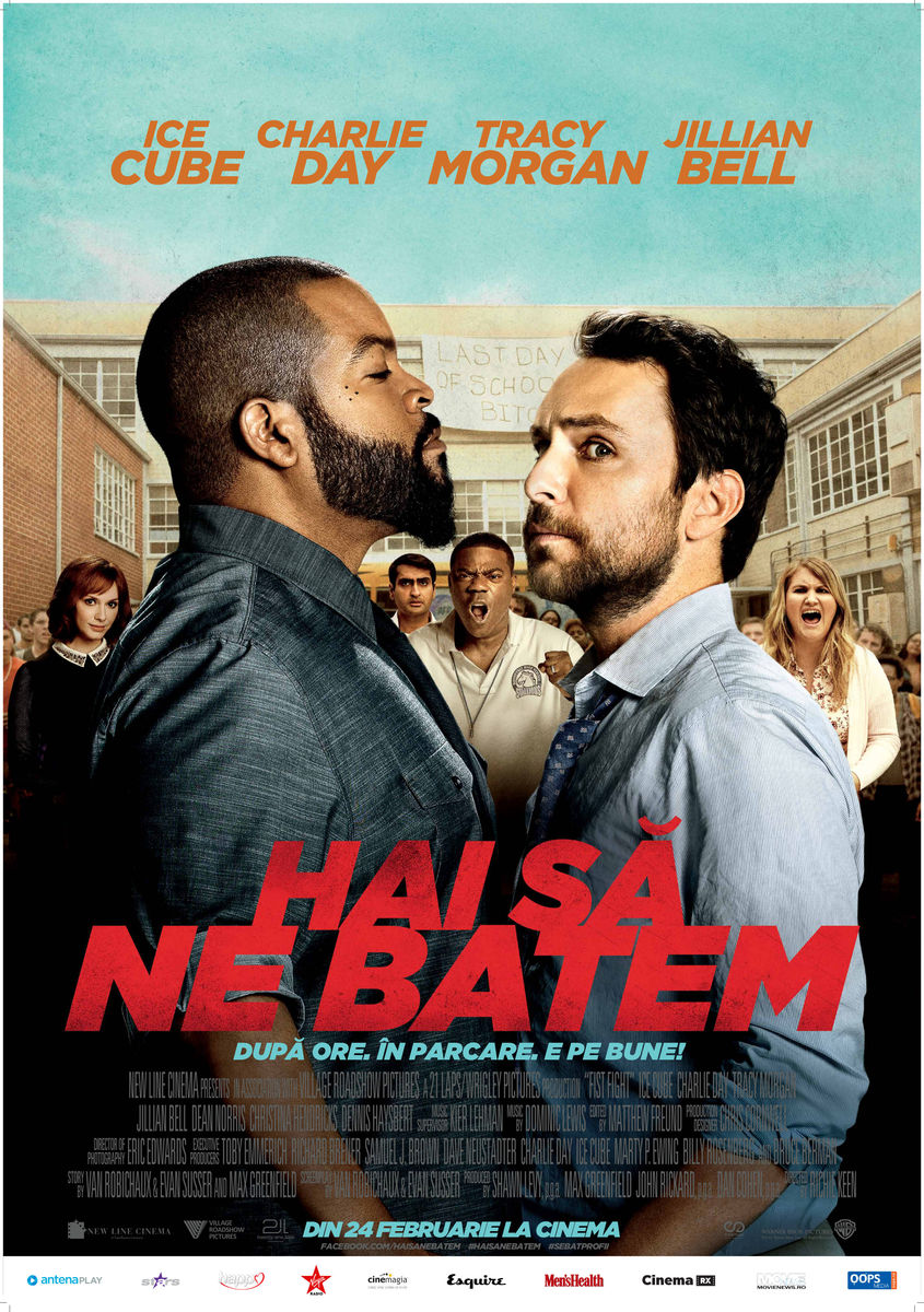 Hai sa ne batem / Fist Fight (Premiera)