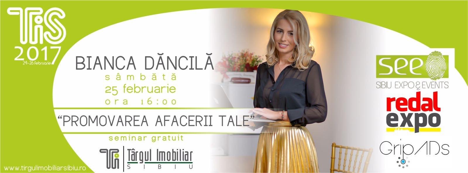 Promovarea afacerii tale - Workshop la Targul Imobiliar Sibiu
