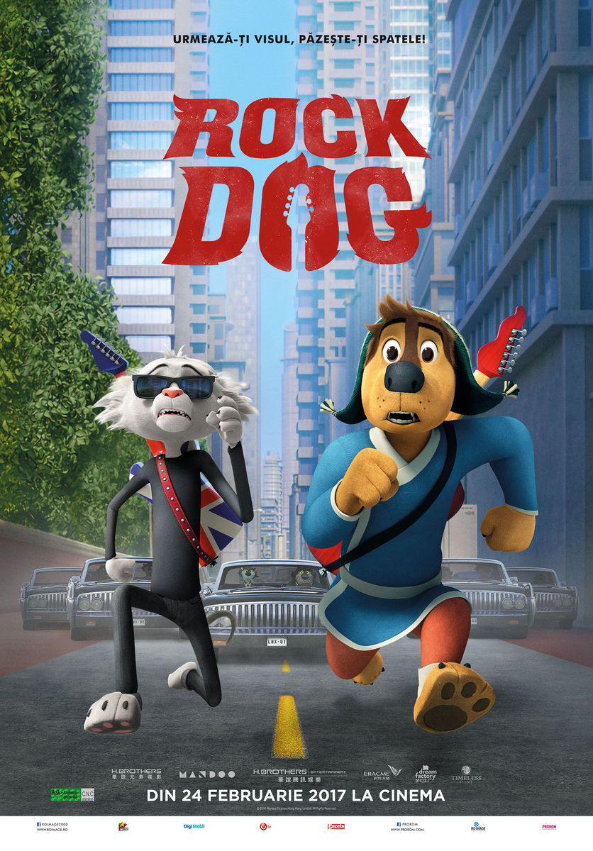 Rock Dog – 3D Dublat / Rock Dog 3D