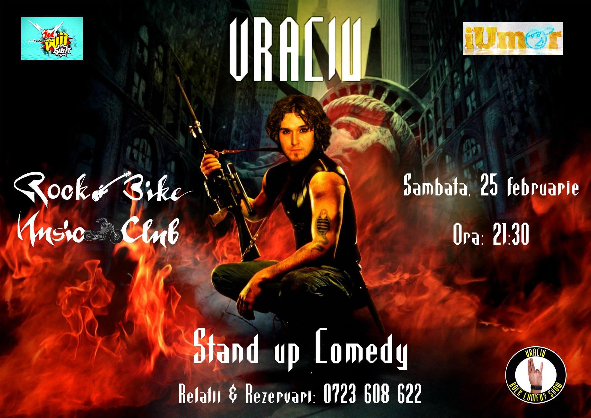 Stand up Comedy cu Vraciu in Sibiu