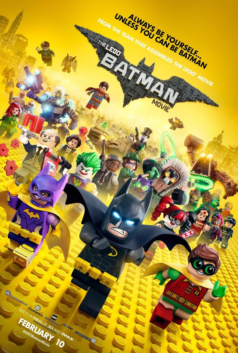 LEGO Batman: Filmul – 3D Dublat / The LEGO Batman Movie 3D (Premiera)