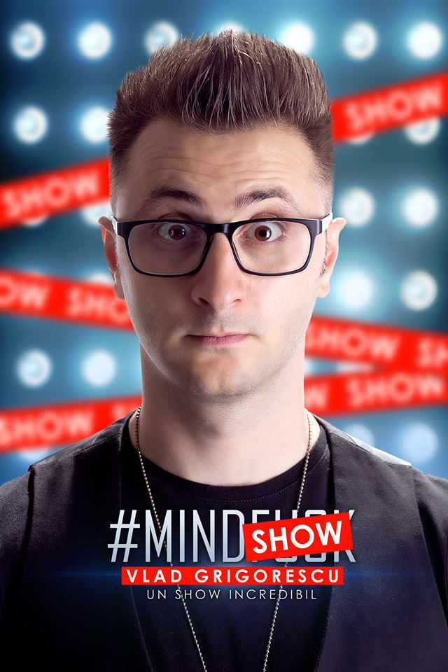 Turneul Mindshow by Vlad Grigorescu ajunge la Sibiu