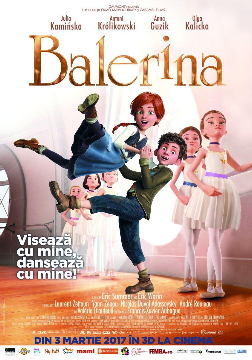 Balerina – 3D Dublat / Ballerina – 3D
