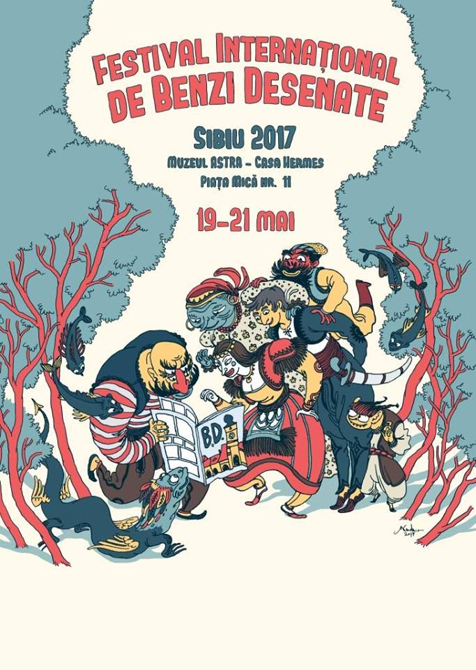 Festivalul International de Benzi Desenate de la Sibiu 2017