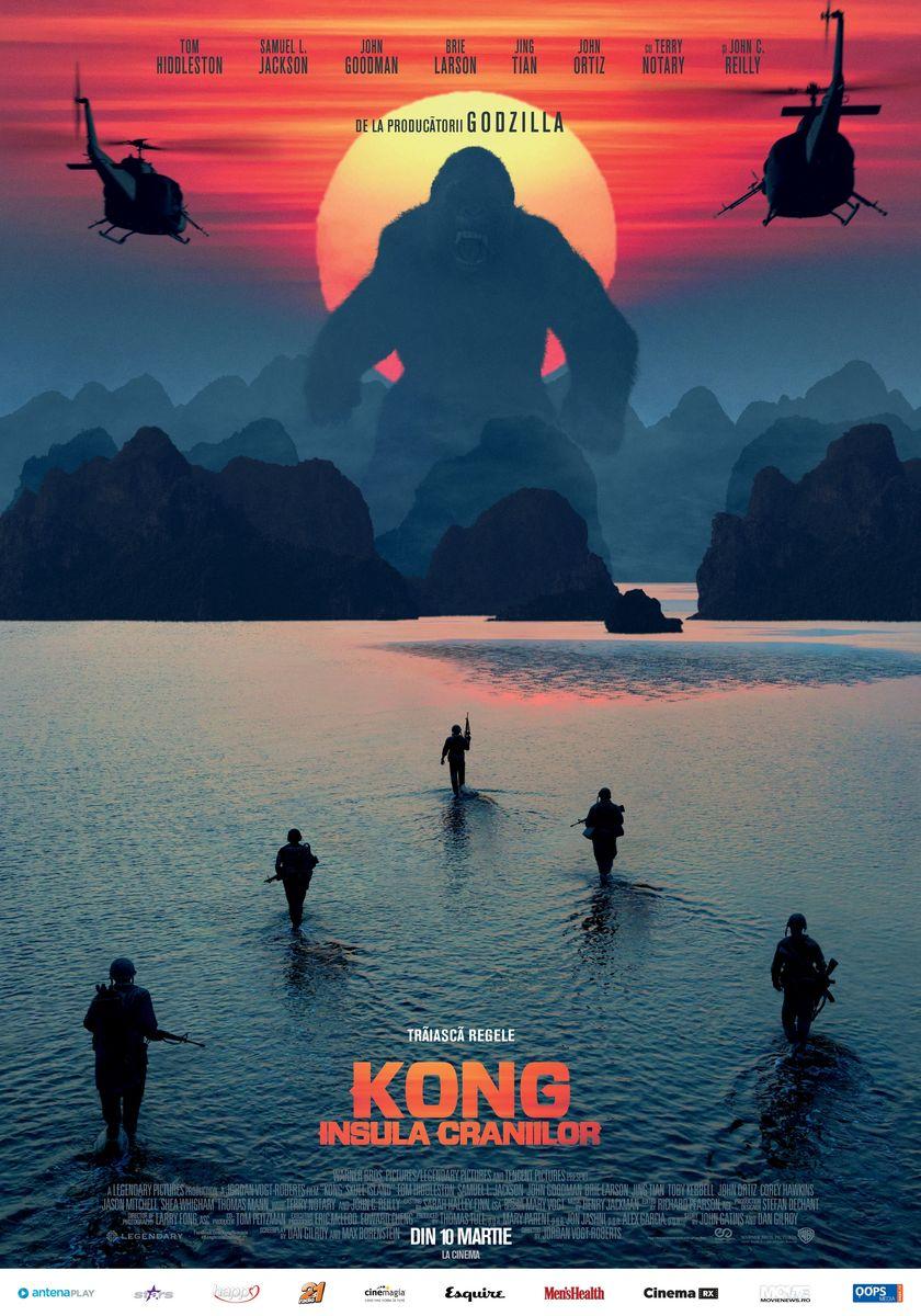 Kong: Insula Craniilor – 3D / Kong: Skull Island (Avanpremiera)