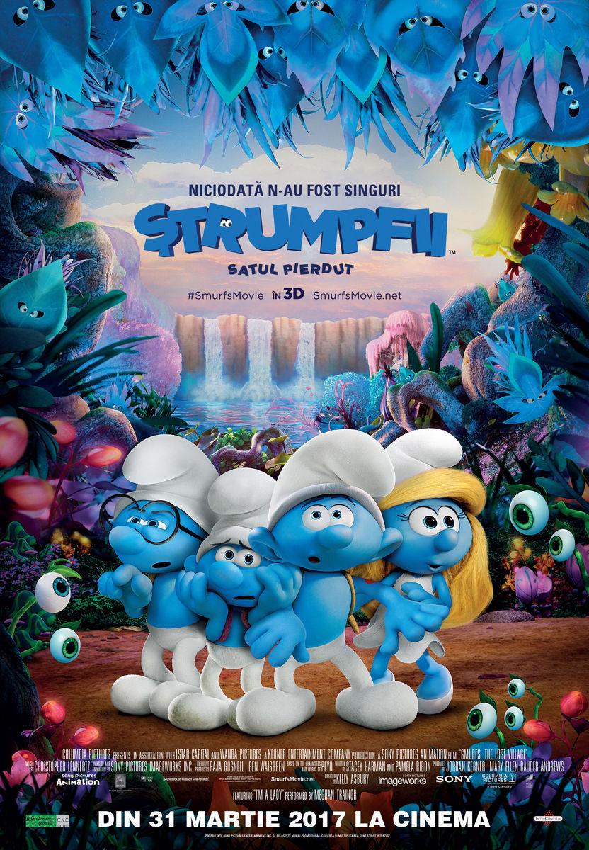 Strumpfii: Satul pierdut – 3D Dublat / Smurfs: The Lost Village – 3D (Avanpremieră)