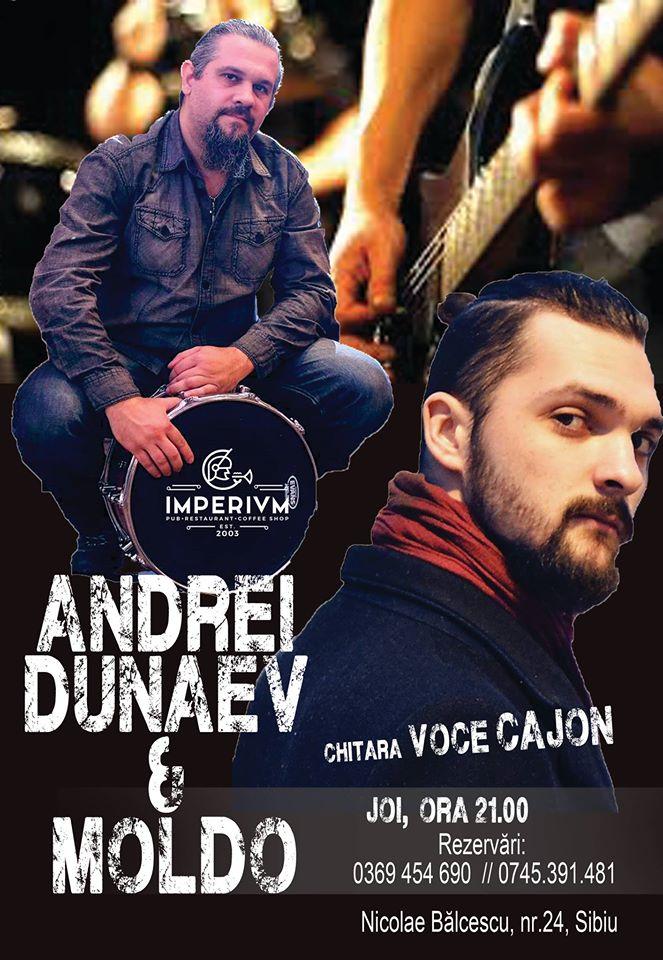 Andrei Dunaev & Moldo - Live music