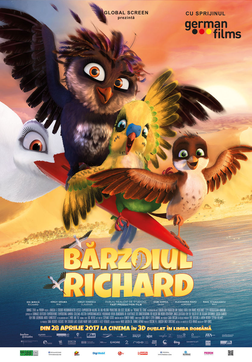 Bărzoiul Richard – 3D Dublat / Richard the Stork (Premieră)