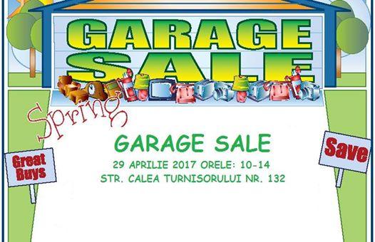 Garage Sale-29 Aprilie 2017