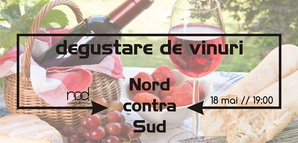Degustare de vinuri Nord contra Sud