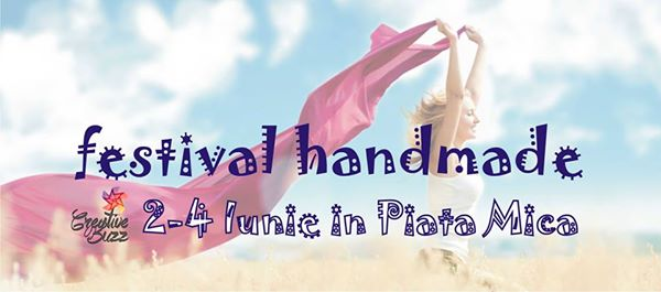 Festival Handmade Creative Buzz la Sibiu - ediția 12