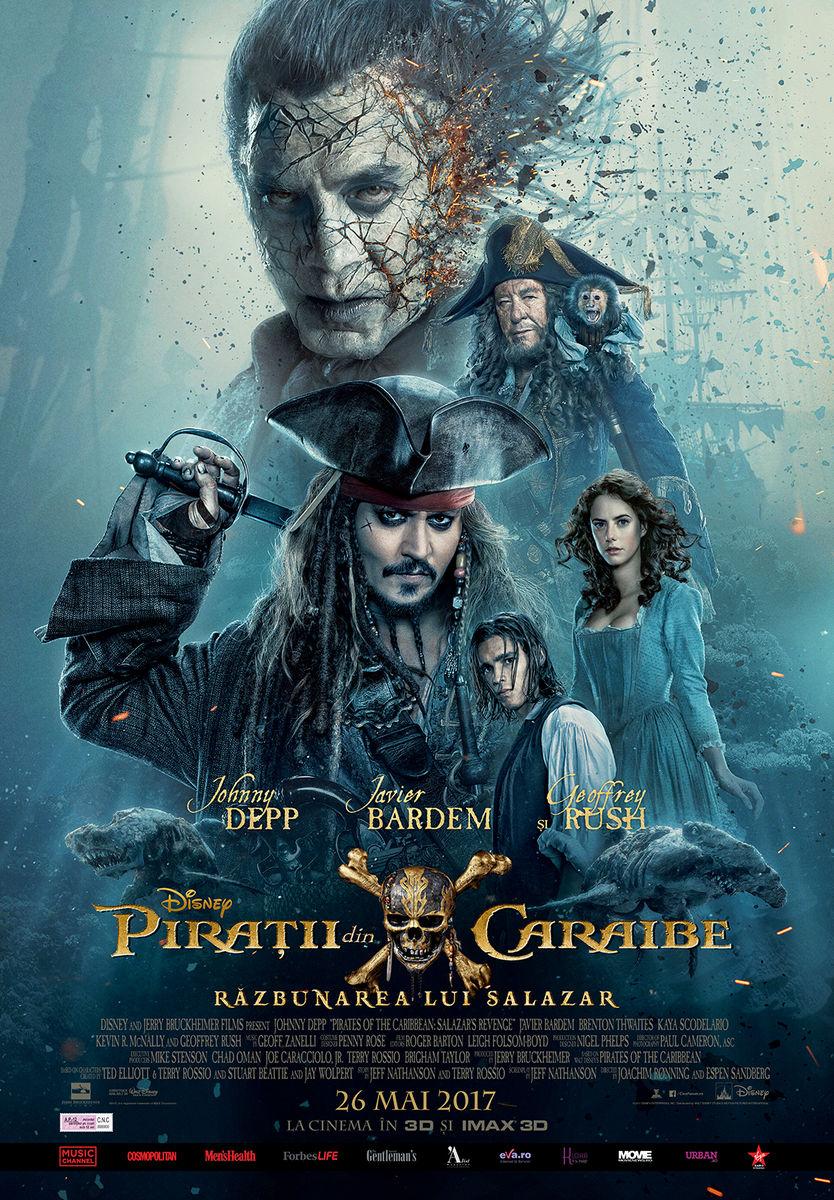 Piraţii din Caraibe: Răzbunarea lui Salazar – 3D / Pirates of the Caribbean: Dead Men Tell No Tales - 3D (Premieră)