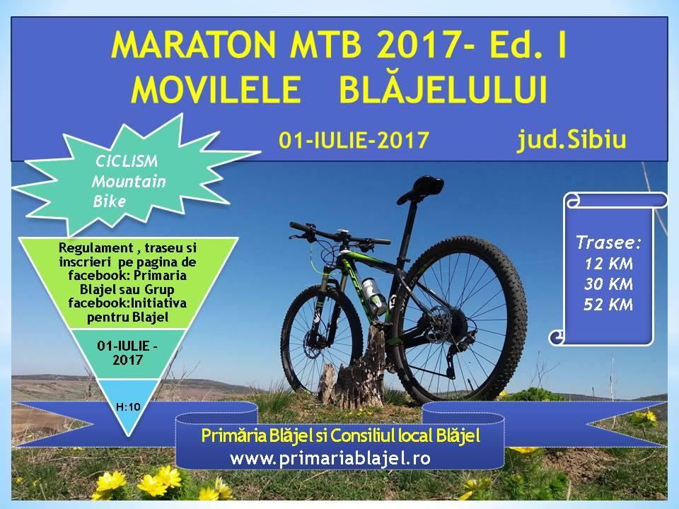 Maraton MTB Movilele Blajelului 2017