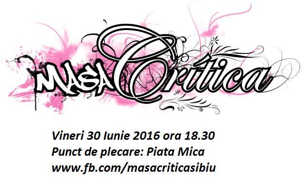 Masa Critica Sibiu