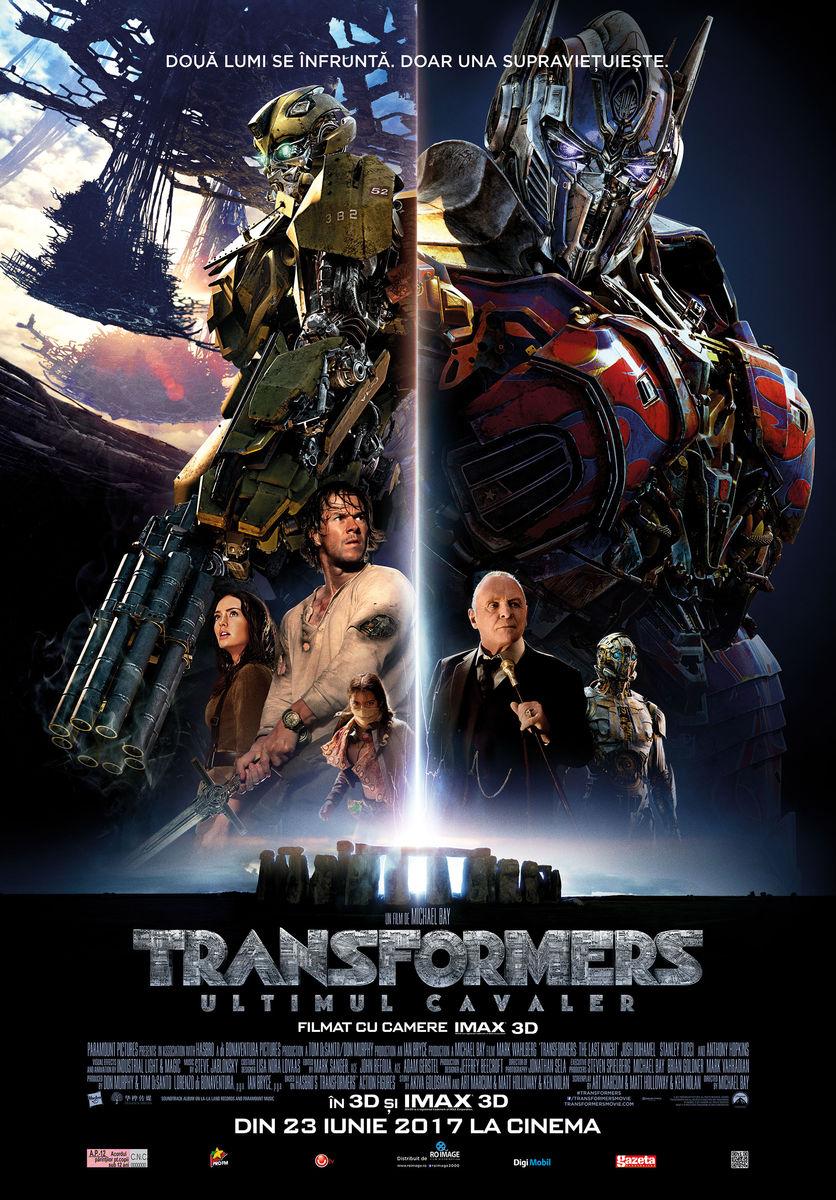 Transformers: Ultimul Cavaler – 3D / Transformers: Last Knight – 3D (Premieră)