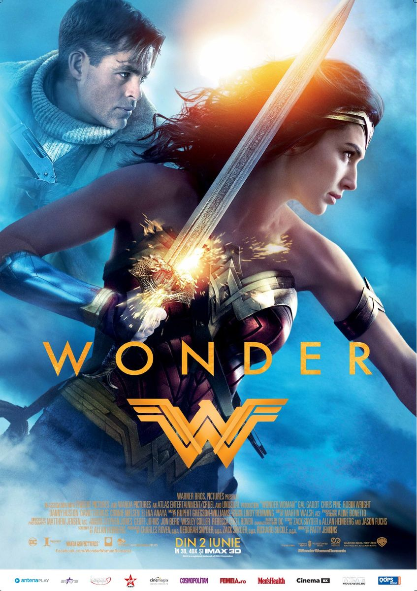 Wonder Woman – 3D (Premieră)