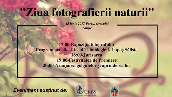 Ziua Fotografierii Naturii - Saliste