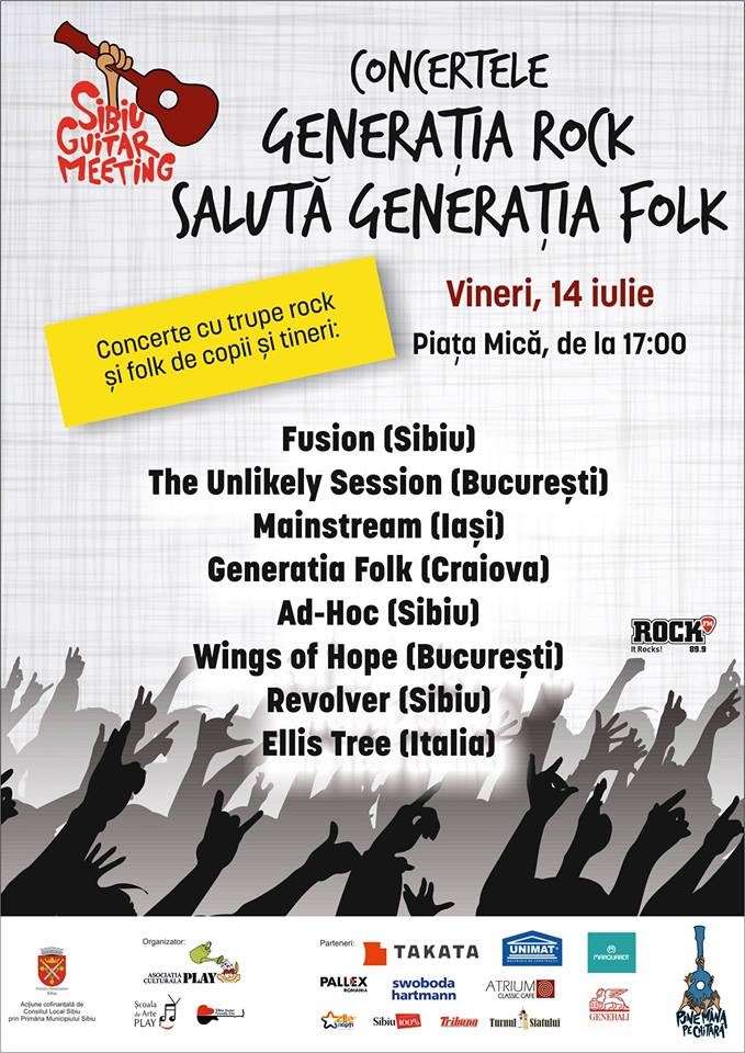 Generatia Rock saluta Generatia Folk @Sibiu Guitar Meeting