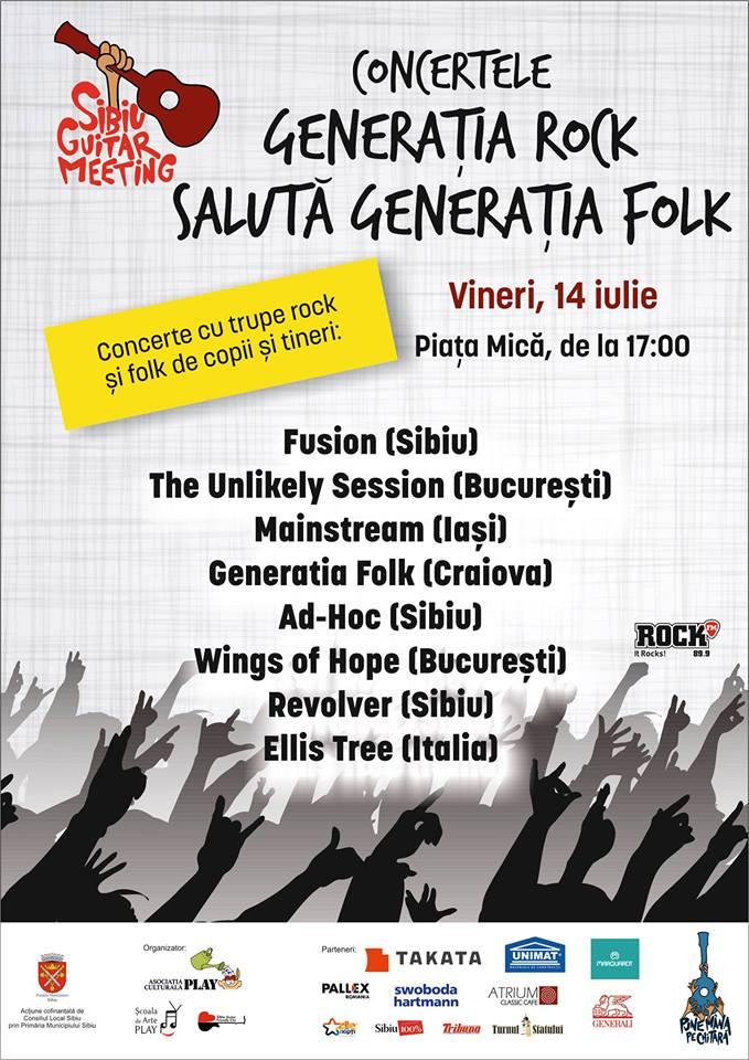 Generatia Rock saluta Generatia Folk @Sibiu Guitar Meeting