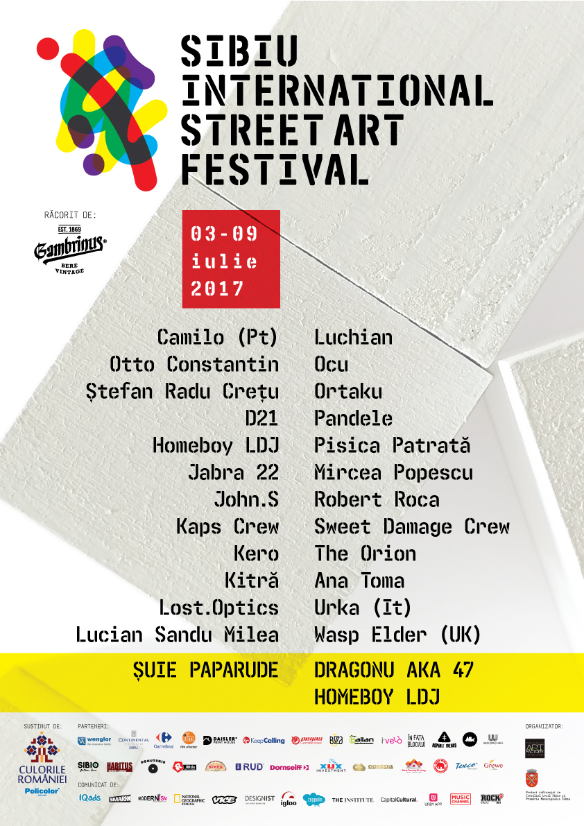 Sibiu International Street ART Festival 2017