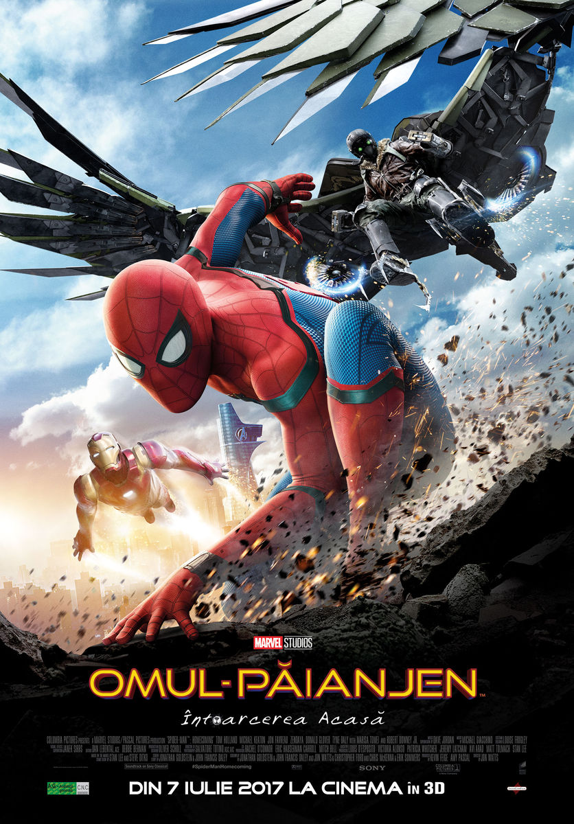 Omul-Păianjen: Întoarcerea acasă – 3D / Spider-Man: Homecoming – 3D (Premieră)