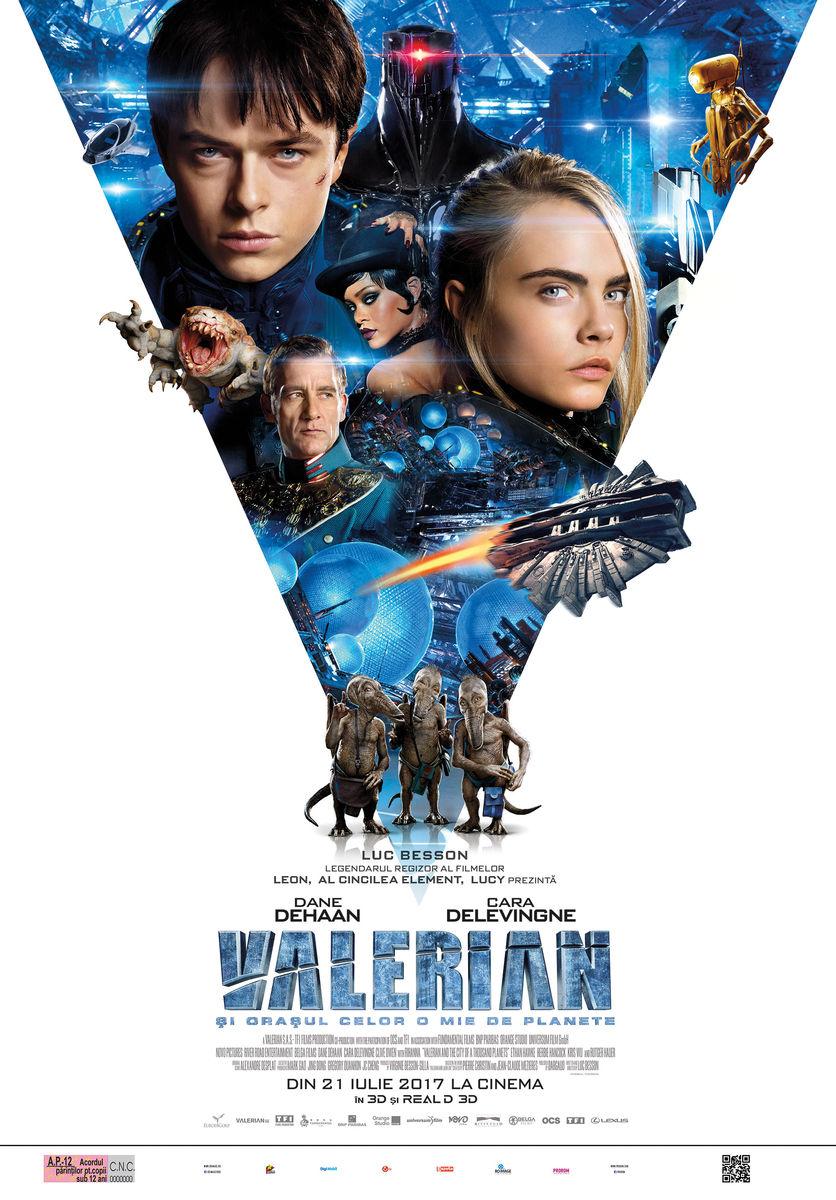 Valerian şi Oraşul celor o mie de Planete – 3D / Valerian and the City of a Thousand Planets (Premieră)