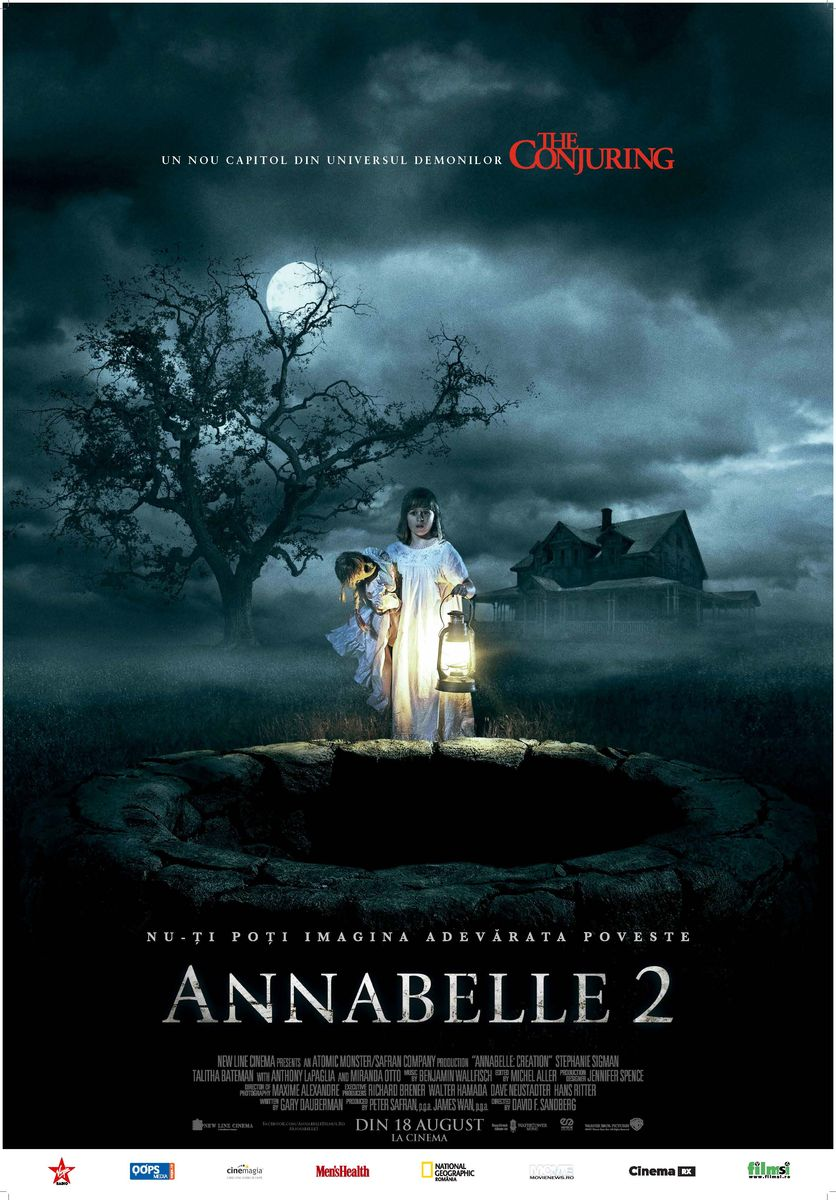 Annabelle 2 / Annabelle: Creation (Premieră)