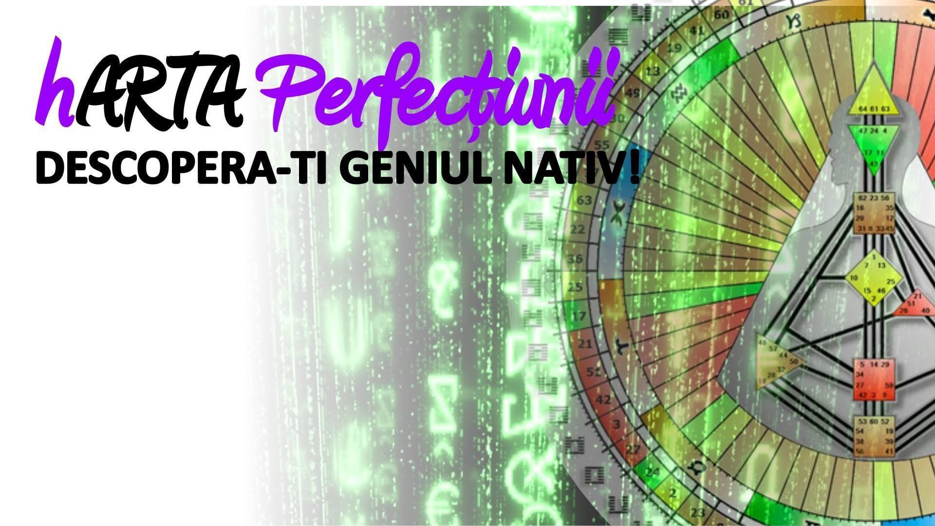 Descoperă-ți Geniul Nativ sustinut de Iulian Motea