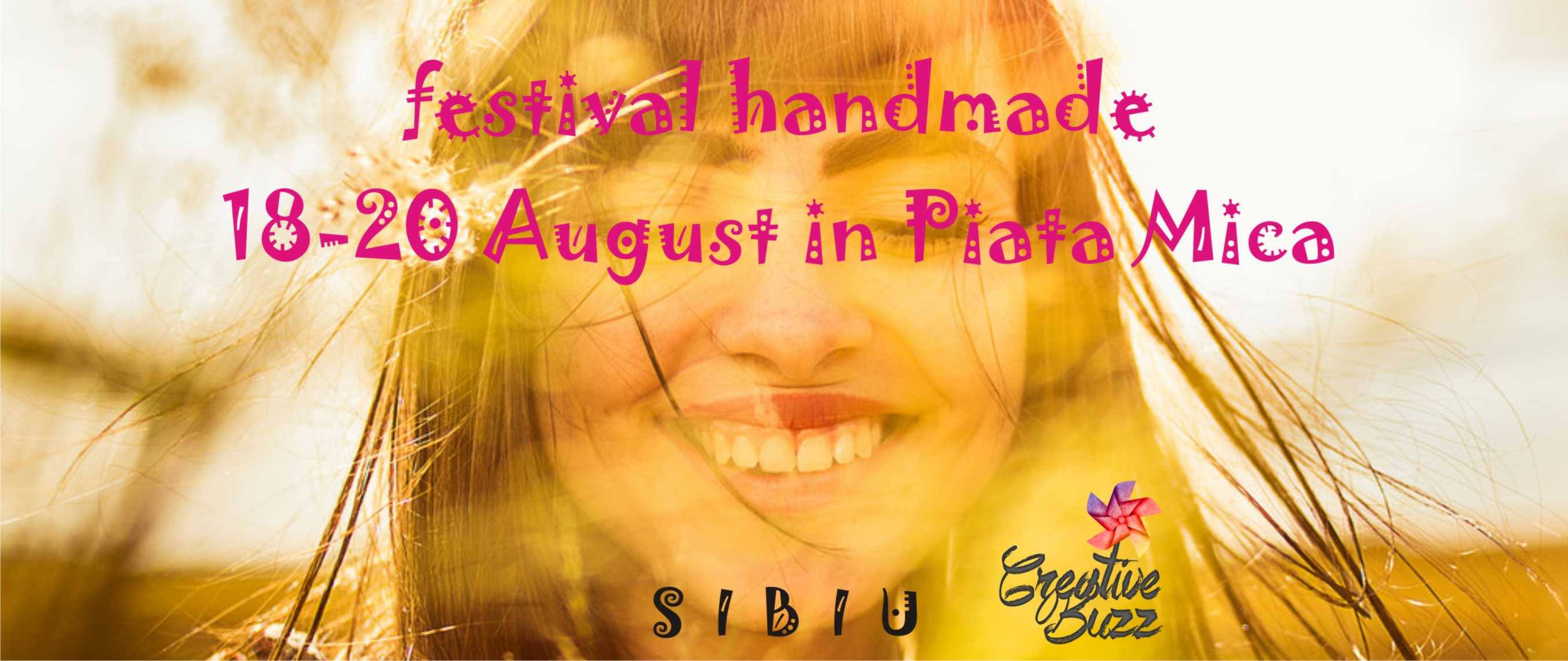 Festival Handmade Creative Buzz la Sibiu - ediția 13