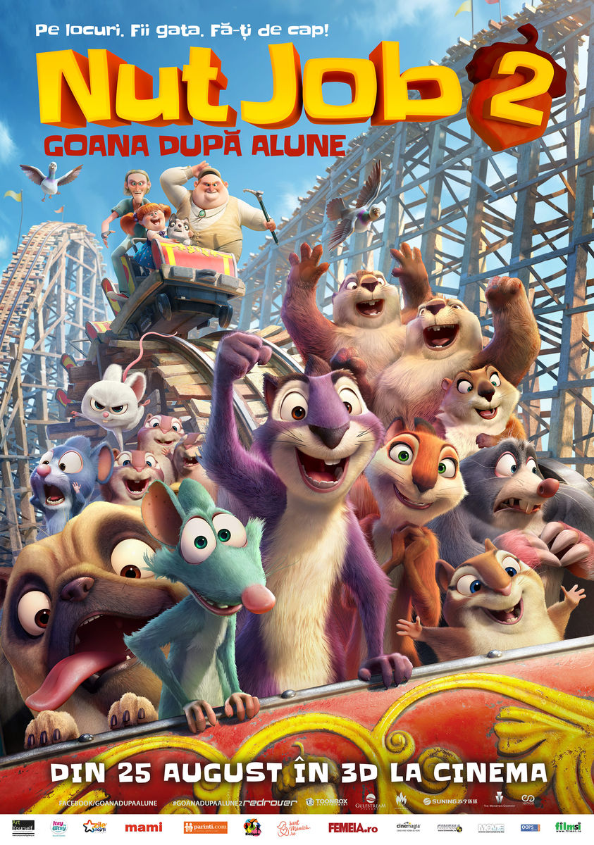 Goana după alune 2 – 3D Dublat / The Nut Job 2: Nutty By Nature (Premieră)