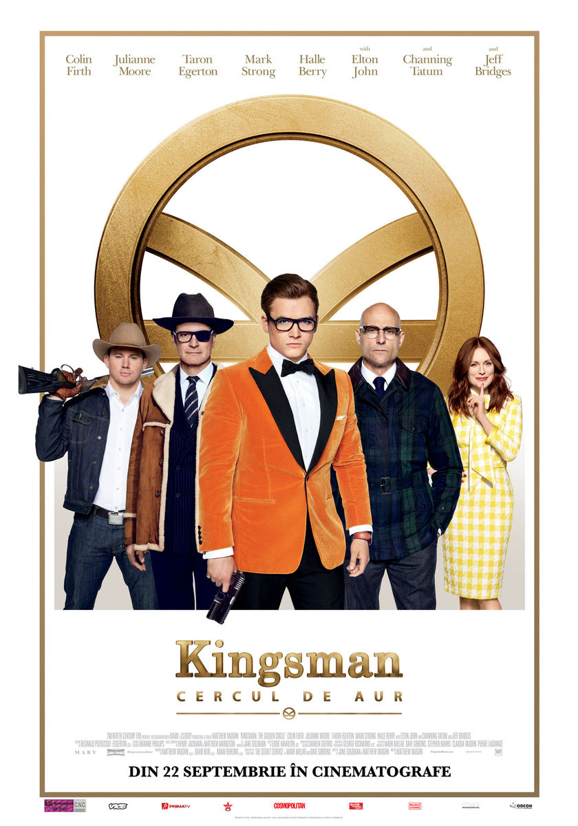 Kingsman: Cercul de Aur / Kingsman: The Golden Circle (Premieră)