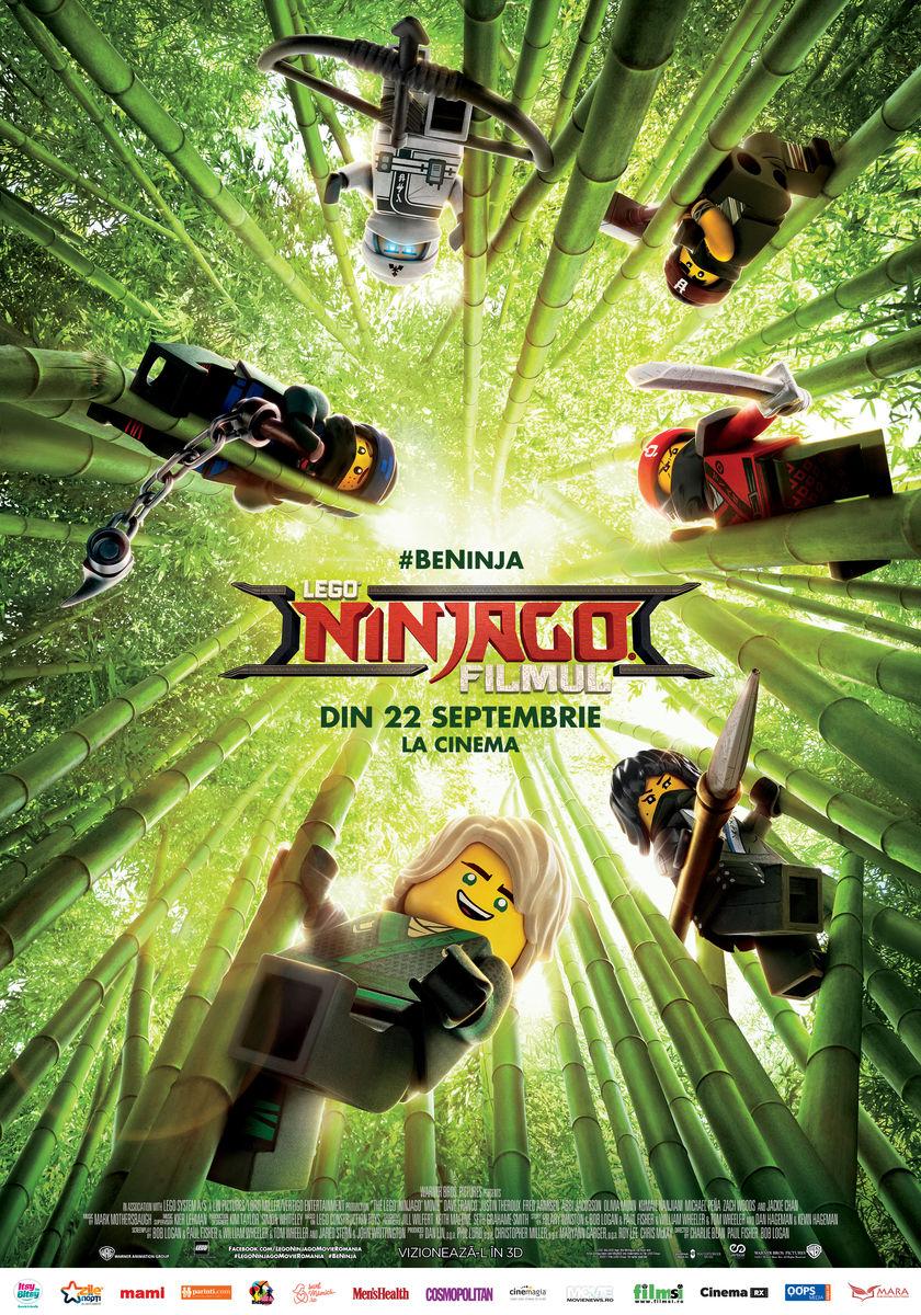LEGO: Ninjago – 3D / The LEGO Ninjago Movie – 3D (Premieră)