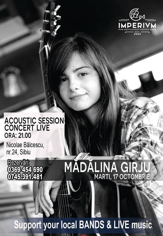 Acoustic Session - Mădălina Gîrju