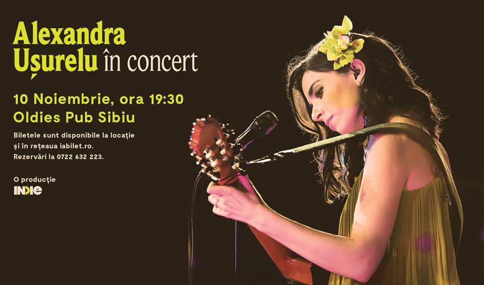 Alexandra Usurelu în concert