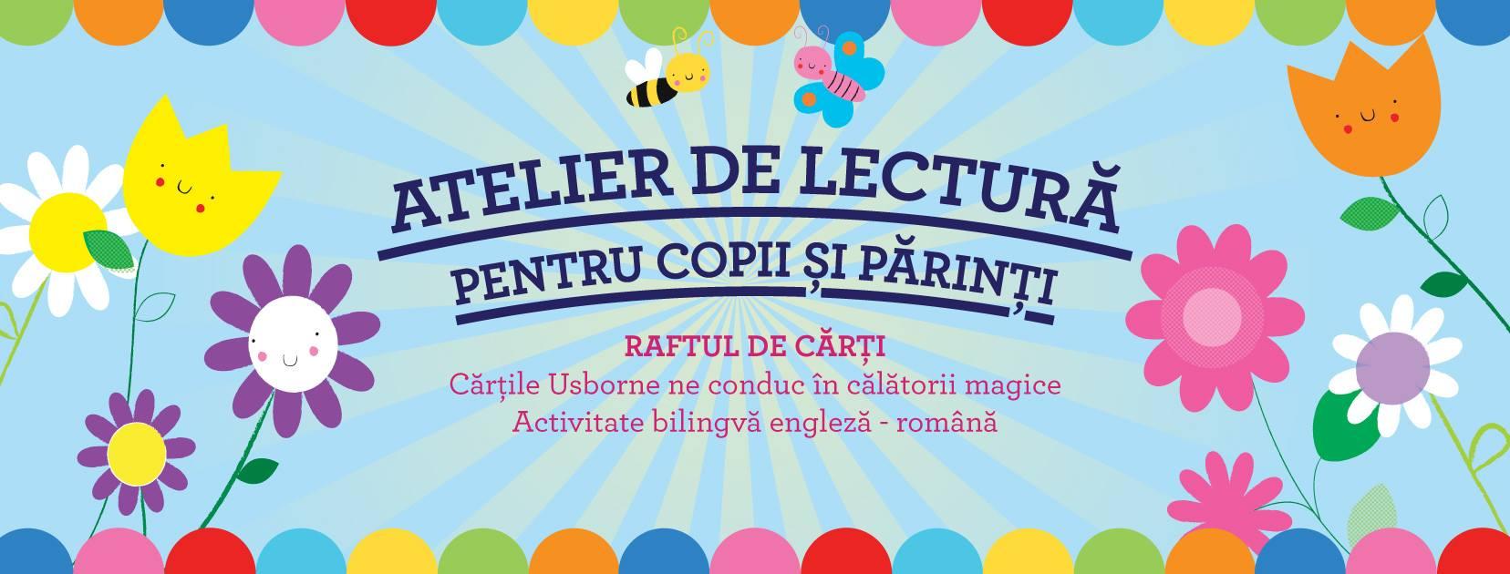 Atelier de lectura pentru copii si parinti