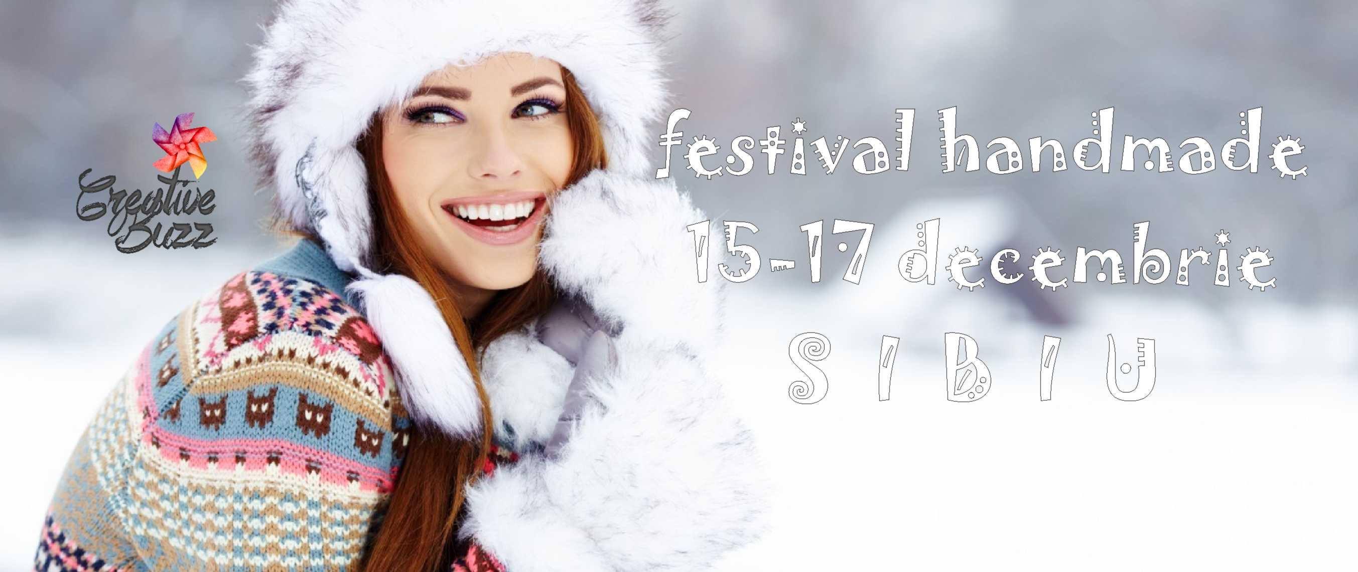Festival Handmade Creative Buzz la Sibiu - ediția 15