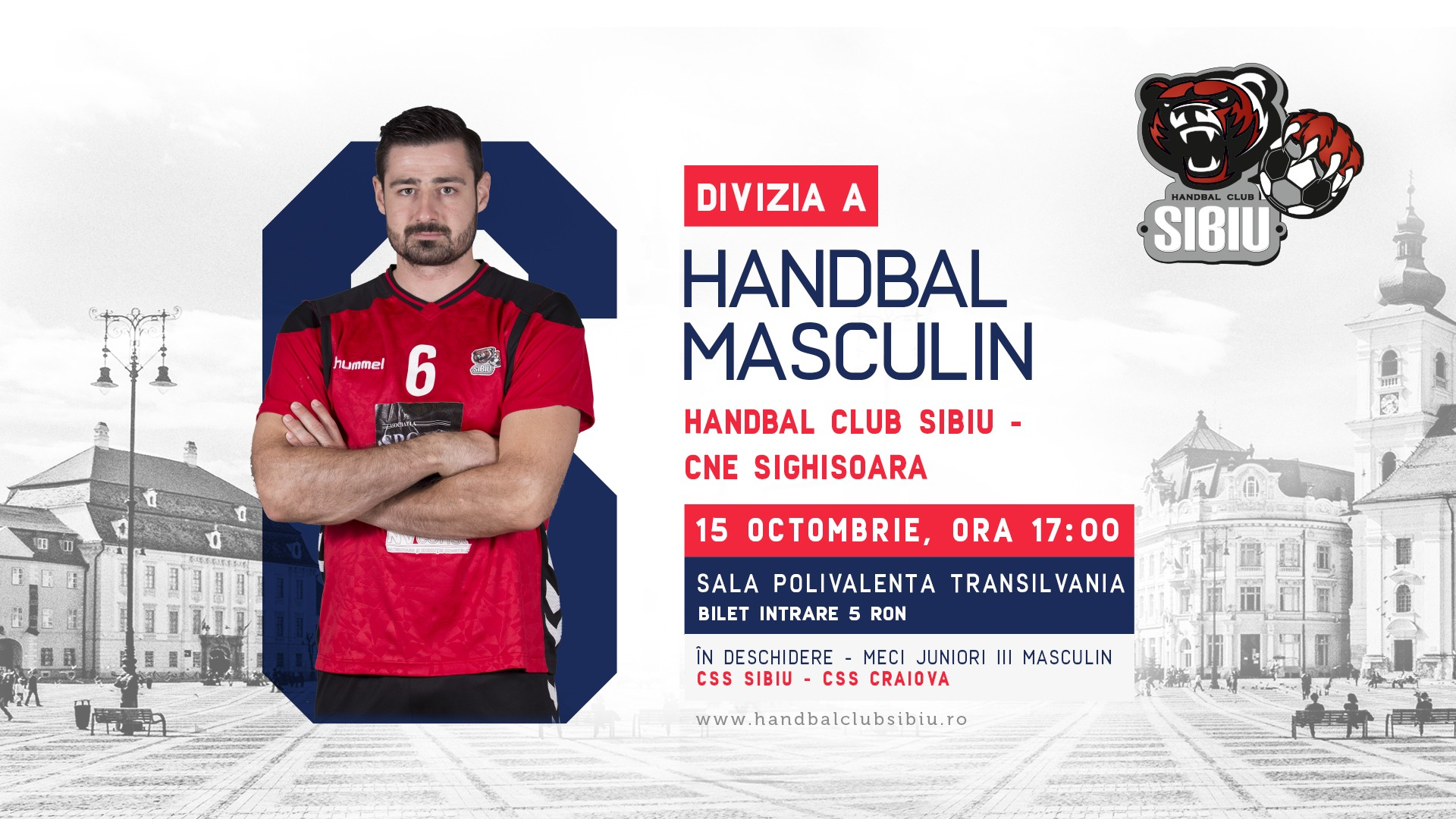 Handbal Club Sibiu - CNE Sighisoara