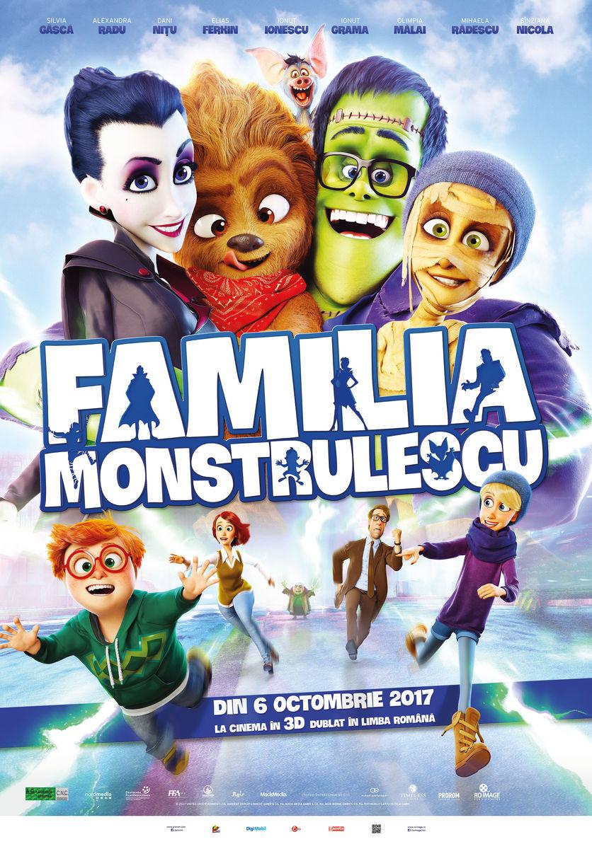 Familia Monstrulescu – 3D Dublat / Happy Family – 3D (Premieră)